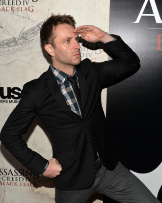 WEST HOLLYWOOD, CA - OCTOBER 22: Actor/comedian Chris Hardwick attends the Assasin's Creed IV Black Flag Launch Party at Greystone Manor Supperclub on October 22, 2013 in West Hollywood, California. (Photo by Michael Buckner/Getty Images for Assasin's Creed)