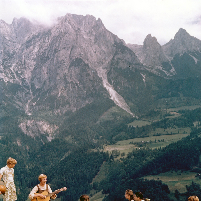 1964: Actress Julie Andrews performs musical number in the movie