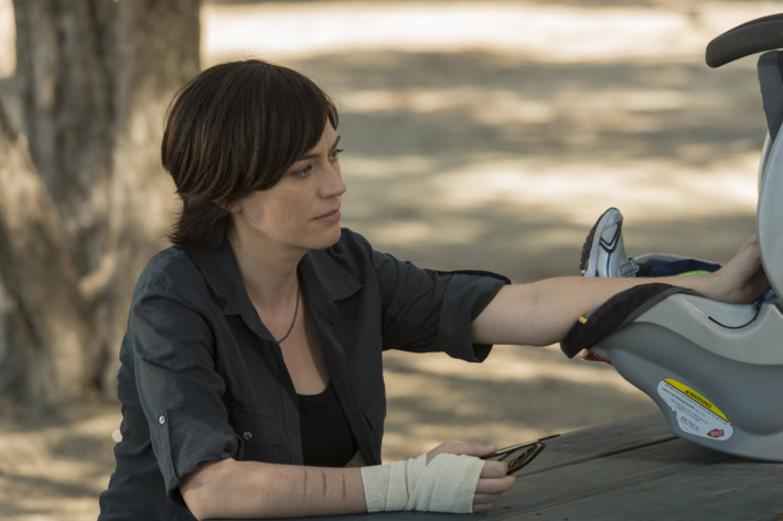 SONS OF ANARCHY A Mother's Work -- Episode 613 -- Airs Tuesday, December 10, 10:00 pm e/p) -- Pictured: Maggie Siff as Tara Knowles -- CR: Prashant Gupta/FX