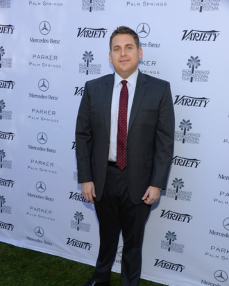 PALM SPRINGS, CA - JANUARY 05: Actor Jonah Hill attends Variety's Creative Impact Awards and 10 Directors to Watch brunch presented by Mercedes-Benz at The 25th Annual Palm Springs International Film Festival at Parker Palm Springs on January 5, 2014 in Palm Springs, California. (Photo by Jason Kempin/Getty Images for Variety)