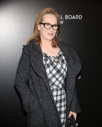 Meryl Streep==National Board of Review Awards Gala, Arrivals==Cipriani 42nd Street, NYC.==January 07, 2014==?Patrick Mcmullan==photo-Sylvain Gaboury/PatrickMcmullan.com====