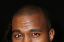 Kanye West attends the Diesel Black Gold fashion show during Mercedes-Benz Fashion Week Spring 2014 at Vanderbilt Hall at Grand Central Terminal on September 10, 2013 in New York City.
