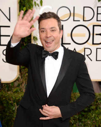 BEVERLY HILLS, CA - JANUARY 12: TV personality Jimmy Fallon attends the 71st Annual Golden Globe Awards held at The Beverly Hilton Hotel on January 12, 2014 in Beverly Hills, California. (Photo by Jason Merritt/Getty Images)