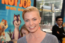 LOS ANGELES, CA - JANUARY 11:  Actress Jaime Pressly attends the premiere of Open Road Films' 'The Nut Job' held at the Regal Cinemas L.A. Live on January 11, 2014 in Los Angeles, California.  (Photo by Jason Merritt/Getty Images)