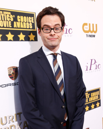 SANTA MONICA, CA - JANUARY 16: Actor Bill Hader attends the 19th Annual Critics' Choice Movie Awards at Barker Hangar on January 16, 2014 in Santa Monica, California. (Photo by Christopher Polk/Getty Images)