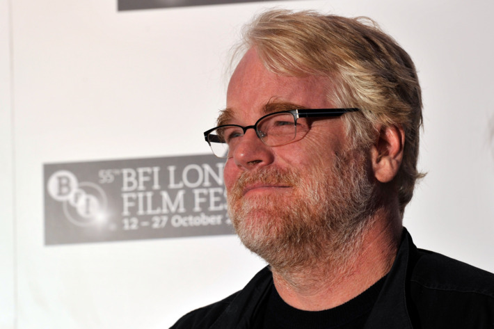 """LONDON, ENGLAND - OCTOBER 19:  Actor Philip Seymour Hoffman attends """"The Ides of March"""" photocall during the 55th BFI London Film Festival at the Odeon West End on October 19, 2011 in London, England.  (Photo by Gareth Cattermole/Getty Images For The BFI)"""