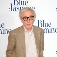 "PARIS, FRANCE - AUGUST 27: Director Woody Allen attends the ""Blue Jasmine"" Paris premiere at UGC Cine Cite Bercy on August 27, 2013 in Paris, France.  (Photo by Marc Piasecki/WireImage)"
