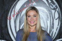 NEW YORK, NY - FEBRUARY 10:  Actress Katrina Bowden attends the alice + olivia by Stacey Bendet Fall 2014 presentation during Mercedes-Benz Fashion Week Fall 2014 at The McKittrick Hotel on February 10, 2014 in New York City.  (Photo by Rob Kim/Getty Images for alice + olivia by Stacey Bendet)