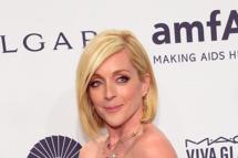 Jane Krakowski, wearing Bulgari, attends the 2014 amfAR New York Gala at Cipriani Wall Street on February 5, 2014 in New York City.