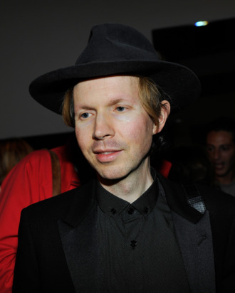 LOS ANGELES, CA - OCTOBER 10: Musician Beck Hansen attends Isabel Marant & Milla Jovovich BBQ party to celebrate the 1st Year of he LA Shop at Isabel Marant on October 10, 2013 in Los Angeles, California. (Photo by Donato Sardella/WireImage)