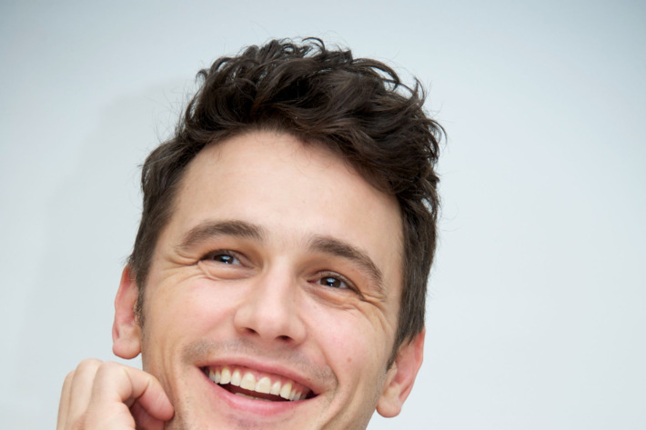 """BEVERLY HILLS, CA - NOVEMBER 17:  James Franco at the """"Homefront"""" Press Conference at the Four Seasons Hotel on November 17, 2013 in Beverly Hills City.  (Photo by Vera Anderson/WireImage)"""