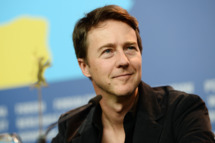 Edward Norton attends 'The Grand Budapest Hotel' press conference during 64th Berlinale International Film Festival at Grand Hyatt Hotel on February 6, 2014 in Berlin, Germany.
