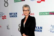 "LOS ANGELES, CA - MARCH 03:  Actress Jamie Lee Curtis attends the one-night reading of ""8"" presented by The American Foundation For Equal Rights & Broadway Impact at The Wilshire Ebell Theatre on March 3, 2012 in Los Angeles, California.  (Photo by Jason Merritt/Getty Images  for American Foundation for Equal Rights)"