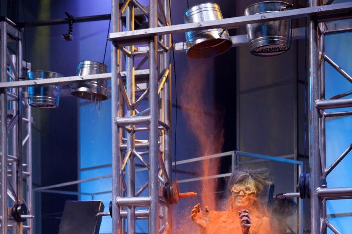 "10/16/13Sunset-Bronson Studios, Hollywood, CaPhotographer: Adm RoseMark McGrath hosts season 2 of Killer Karaoke, where contestants sing karaoke while performing ""killer"" stunts."