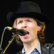 SAN FRANCISCO, CA - AUGUST 10:  Musician Beck performs at the Lands End Stage during day 1 of the 2012 Outside Lands Music and Arts Festival at Golden Gate Park on August 10, 2012 in San Francisco, California.  (Photo by Jeff Kravitz/FilmMagic)