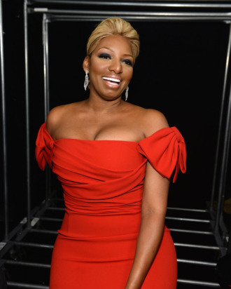 NEW YORK, NY - FEBRUARY 06: NeNe Leakes poses backstage at Go Red For Women The Heart Truth Red Dress Collection 2014 Show Made Possible By Macy's And SUBWAY Restaurants at The Theatre at Lincoln Center on February 6, 2014 in New York City. (Photo by Dimitrios Kambouris/Getty Images)