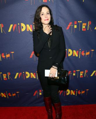 NEW YORK, NY - NOVEMBER 03: Mary-Louise Parker attends