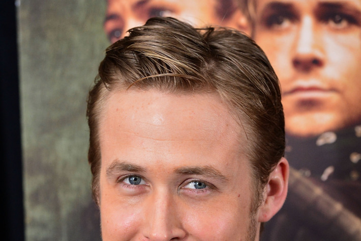 """NEW YORK, NY - MARCH 28:  Ryan Gosling attends """"The Place Beyond The Pines"""" New York Premiere at Landmark Sunshine Cinema on March 28, 2013 in New York City.  (Photo by James Devaney/WireImage)"""
