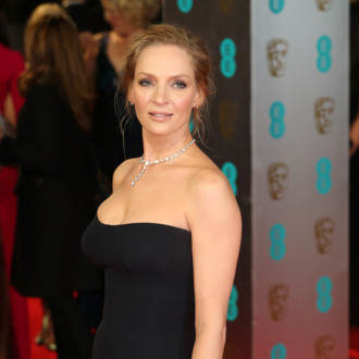 LONDON, ENGLAND - FEBRUARY 16: Actress Uma Thurman attends the EE British Academy Film Awards 2014 at The Royal Opera House on February 16, 2014 in London, England. (Photo by Chris Jackson/Getty Images)