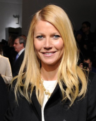 Actress Gwyneth Paltrow attends the Boss Women fashion show during Mercedes-Benz Fashion Week Fall 2014 at Skylight Limited on February 12, 2014 in New York City.