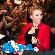 PARIS, FRANCE - MARCH 17:  Scarlett Johansson attends the 'Captain America: The Winter Soldier' Paris Premiere at Le Grand Rex on March 17, 2014 in Paris, France.  (Photo by Francois Durand/Getty Images)