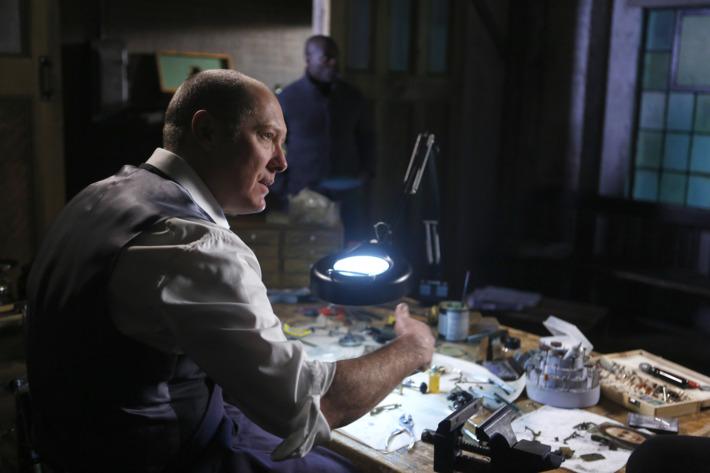 "THE BLACKLIST -- ""Ivan"" -- Pictured: James Spader as Raymond ""Red"" Reddington -- (Photo by: Craig Blankenhorn/NBC)"