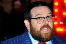 """LONDON, ENGLAND - FEBRUARY 06:  Nick Frost attends the World Premiere of """"Cuban Fury"""" at Vue Leicester Square on February 6, 2014 in London, England.  (Photo by Anthony Harvey/Getty Images)"""