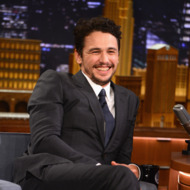 """NEW YORK, NY - MARCH 14:  James Franco visits """"The Tonight Show Starring Jimmy Fallon"""" at Rockefeller Center on March 14, 2014 in New York City.  (Photo by Theo Wargo/NBC/Getty Images for """"The Tonight Show Starring Jimmy Fallon"""")"""