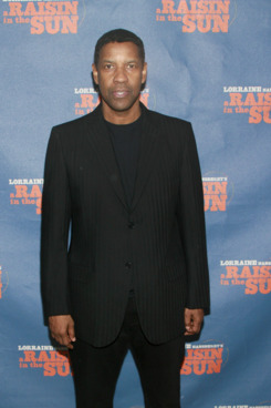 """Denzel Washington==         Opening Night Curtain Call and After Party for """"A Raisin in the Sun""""==         Tribeca Rooftop, 2 Desbrosses Street, NYC.==         April 03, 2014==         ?Patrick Mcmullan==         photo-Sylvain Gaboury/PatrickMcmullan.com==         =="""