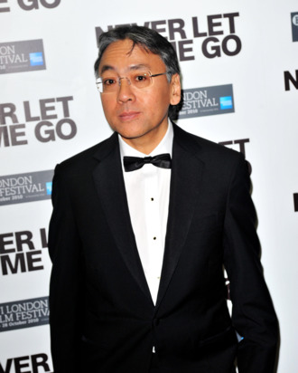 LONDON, ENGLAND - OCTOBER 13: Author Kazuo Ishiguro attends the