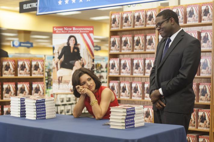 HBO's   2013VEEP season 301Characters:Julia Louis-Dreyfus-  SelinaSam Richardson-  Richard