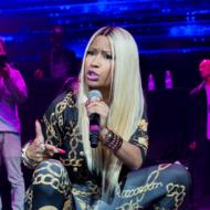 NEW YORK, NY - NOVEMBER 02:  Nicki Minaj performs during Power 105.1's Powerhouse 2013 at Barclays Center on November 2, 2013 in New York City.  (Photo by Mike Pont/FilmMagic)