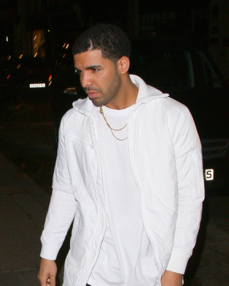 LONDON, UNITED KINGDOM - MARCH 25: Drake arriving at Tramps night club on March 25, 2014 in London, England. (Photo by Mark Robert Milan/FilmMagic)