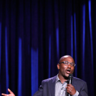 THE TONIGHT SHOW STARRING JIMMY FALLON -- Episode 0007 -- Pictured: Hannibal Buress on February 25, 2014 -- (Photo by: Lloyd Bishop/NBC/NBCU Photo Bank via Getty Images)