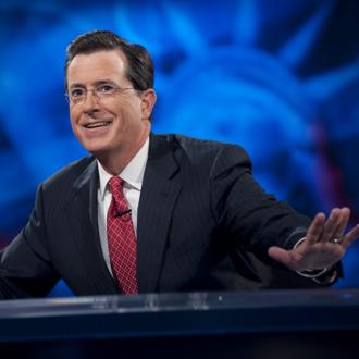 NEW YORK - SEPTEMBER 8: Host Stephen Colbert appears during the