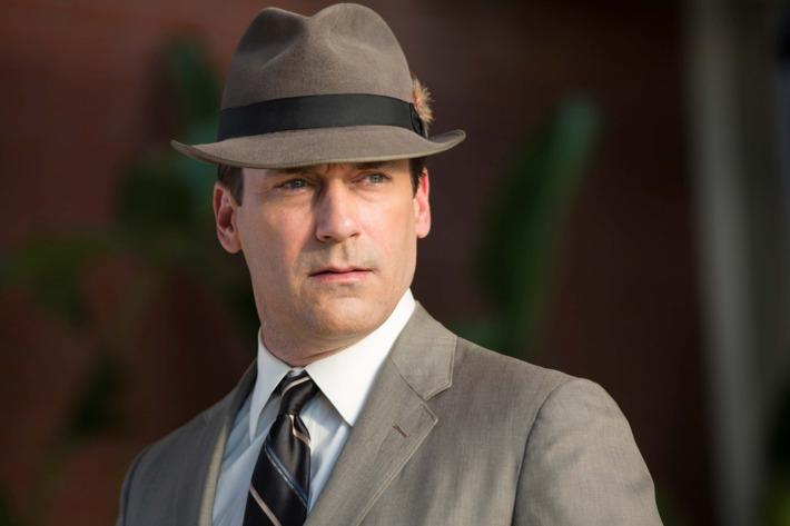 Jon Hamm as Don Draper - Mad Men _ Season 7, Episode 1 - Photo Credit: Michael Yarish/AMC