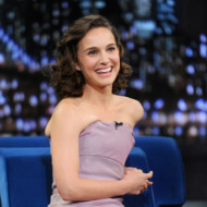 """Natalie Portman visits """"Late Night With Jimmy Fallon"""" on November 7, 2013 in New York City."""