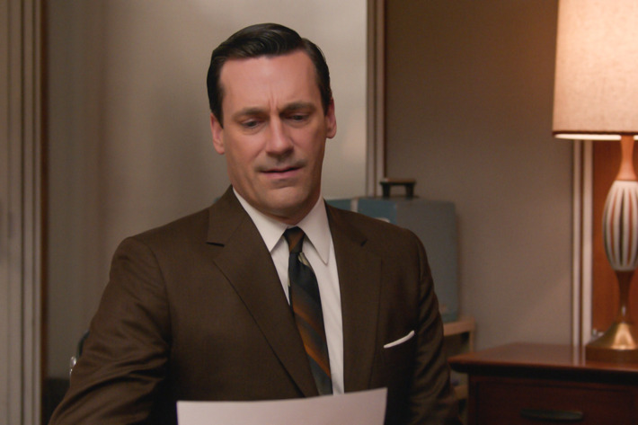Jon Hamm as Don Draper - Mad Men _ Season 7, Episode 3 - Photo Credit: Courtesy of AMC