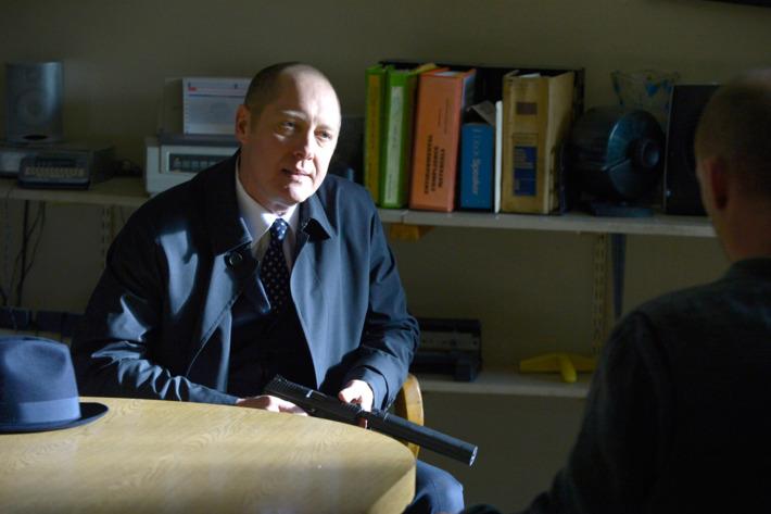 "THE BLACKLIST -- ""Berlin Conclusion"" Episode 121 -- Pictured: James Spader as Raymond Reddington -- (Photo by: Virginia Sherwood/NBC)"