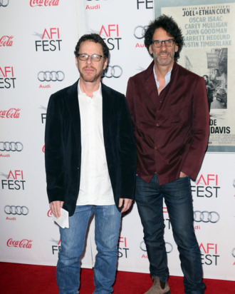 HOLLYWOOD, CA - NOVEMBER 14: Directors Ethan Coen (L) and Joel Coen attend the AFI FEST 2013 presented by Audi Closing Night Gala Screening of