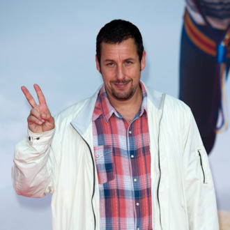 BERLIN, GERMANY - MAY 19: Adam Sandler attends the premiere of the film 'Blended' (German title: 'Urlaubsreif') at CineStar on May 19, 2014 in Berlin, Germany. (Photo by Target Presse Agentur Gmbh/Getty Images)