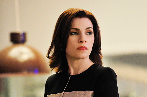 """The Deep Web""--When Alicia has a chance encounter with a charming entrepreneur during jury duty, she begins to consider options outside of her marriage and seeks out the advice of her mother.  Meanwhile, friends of Diane??????s come to her for legal advice when their son is accused of selling drugs in the dark corners of the internet on THE GOOD WIFE, Sunday, May 4 (9:00-10:00 PM, ET/PT) on the CBS Television Network. Pictured: Julianna Margulies as Alicia Florrick Photo: John Paul Filo ????2014 CBS Broadcasting, Inc. All Rights Reserved"