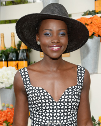 JERSEY CITY, NJ - MAY 31: Actress Lupita Nyong'o attends the seventh annual Veuve Clicquot Polo Classic in Liberty State Park on May 31, 2014 in Jersey City City. (Photo by Jamie McCarthy/Getty Images for Veuve Clicquot)