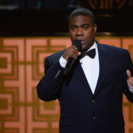 "NEW YORK, NY - MAY 06:  Tracy Morgan speaks onstage at Spike TV's ""Don Rickles: One Night Only"" on May 6, 2014 in New York City.  (Photo by Theo Wargo/Getty Images for Spike TV)"
