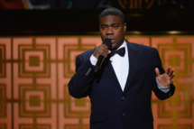 """NEW YORK, NY - MAY 06:  Tracy Morgan speaks onstage at Spike TV's """"Don Rickles: One Night Only"""" on May 6, 2014 in New York City.  (Photo by Theo Wargo/Getty Images for Spike TV)"""