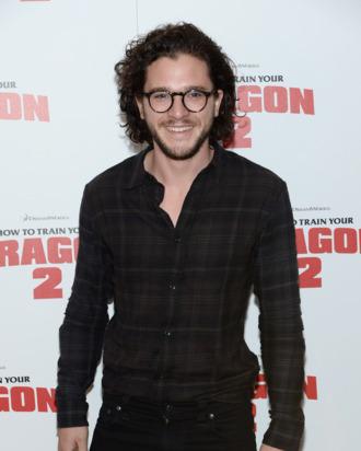 NEW YORK, NY - JUNE 11: Actor Kit Harington attends the DreamWorks Animation & 20th Century Fox screening of