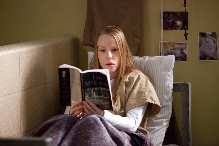 "Emma Myles in a scene from Netflix's ""Orange is the New Black"" Season 2. Photo credit: Jessica Miglio for Netflix."