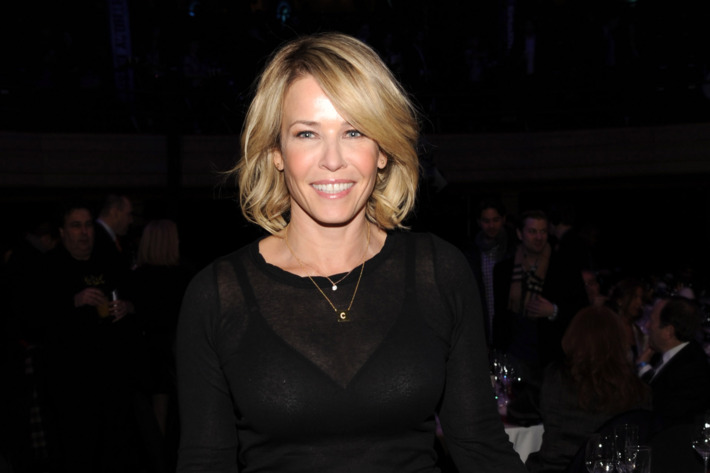 """Chelsea Handler attends """"Howard Stern's Birthday Bash"""" presented by SiriusXM, produced by Howard Stern Productions at Hammerstein Ballroom on January 31, 2014 in New York City."""