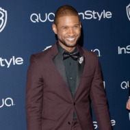 BEVERLY HILLS, CA - JANUARY 12:  Singer Usher attends the 2014 InStyle and Warner Bros. 71st Annual Golden Globe Awards Post-Party on January 12, 2014 in Beverly Hills, California.  (Photo by Jason Merritt/Getty Images)