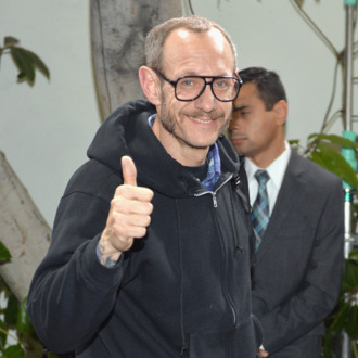 LOS ANGELES, CA - FEBRUARY 26: Photographer Terry Richardson attends The Annie Leibovitz SUMO-Size Book Launch presented by Vanity Fair, Leon Max and Benedikt Taschen during Vanity Fair Campaign Hollywood at Chateau Marmont on February 26, 2014 in Los Angeles, California. (Photo by Michael Buckner/Getty Images for Vanity Fair)